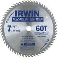 Irwin Classic 15530 Diamond Arbor Circular Saw Blade
