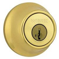 Weiser 9GDC94710-044 Single Cylinder Standard Duty Dead Bolt