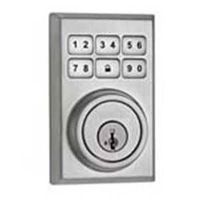 LOCKSET DEADBOLT SAT CHRM