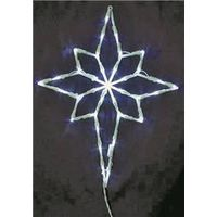 ORNAMENT 16IN STAR LED 2D