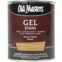Old Masters 81604 Oil Based Gel Stain