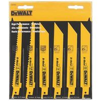 BLADE RECIP SAW ASSORTED 6PC
