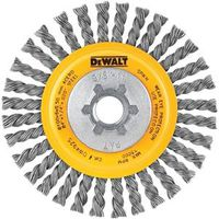 WHEEL BRSH BEAD WRE 4X5/8-11IN
