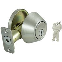 DEADBOLT SINGLE CYL S/S KA3 VP