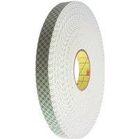TAPE FOAM OFF-WHITE 1/2INX36YD