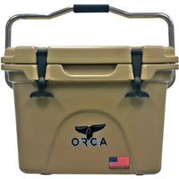 COOLER 20 QUART TAN INSULATED