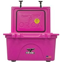 COOLER 26 QUART PINK INSULATED