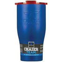 DRINKWARE BLUE W/ORG LID 27OZ