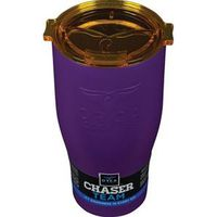 DRINKWARE PURPLE W/GOLD 27OZ