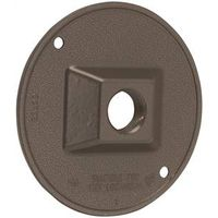 Bell Raco 5193-7 3-Hole Cluster Lamp Holder Cover