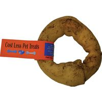 TREAT DONUT RAWHIDE PEANUT 4IN