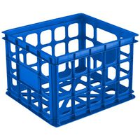 STORAGE CRATE BLUE AQUARIUM