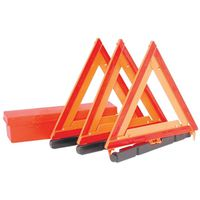 WARNING TRIANGLE EMERG 3PC