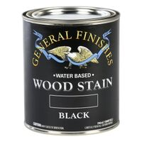 STAIN WOOD BLACK INTERIOR 1QT