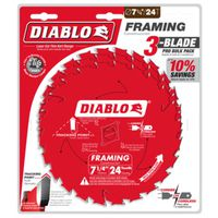 BLADE SAW FRAMING 24T 7-1/4IN