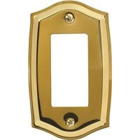 AmerTac Amerelle Sonoma 76RBR Decorative Rectangular Wall Plate