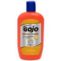HAND CLEANER 14OZ ORNG W/BRUSH