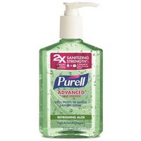 HAND SANITIZER GEL ALOE 8OZ