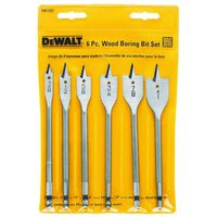 Dewalt DW1587 Wood Boring Spade Bit Set