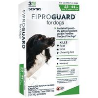Sentry 02951 Fiproguard Flea and Tick Squeeze-On