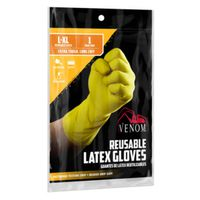 GLOVES LATEX ALL PURPOSE L/XL
