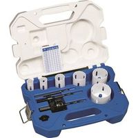 Lenox 30860C600P Bi-Metal Plumber Medium Hole Saw Kit