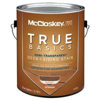 Mccloskey 14304 True Basics Exterior Acrylic Stain
