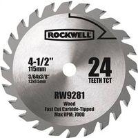 Rockwell RW9281 Circular Saw Blades