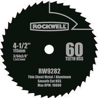 Rockwell RW9282 Compact Circular Saw Blade