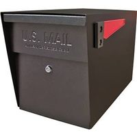 Mail Boss 7106 Packagemaster Curbside Ultimate Locking  Mailbox