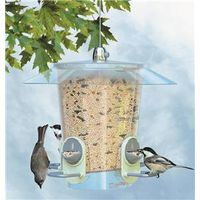 Perky Pet 733 2-In-1 Hooper Metro Bird Feeder