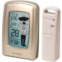 AcuRite 00827CASB Wireless Forecaster With Weatherman