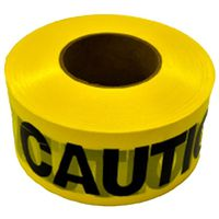 TAPE CAUTION CON 2M 3INX1000FT