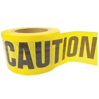 TAPE CAUTION BRCD 5M 3INX500FT