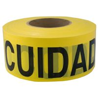 TAPE CAUT/CUID 2MIL 3INX1000FT