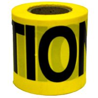 TAPE CAUTION BRCD 2M 3INX300FT