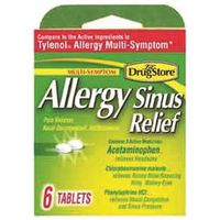 Lil Drug Store 20-366715-97273-0 Allergy Sinus Relief