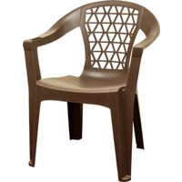 CHAIR STACK EARTH BROWN 250LB