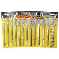 Speedbor 88894 Wood Boring Spade Bit Set