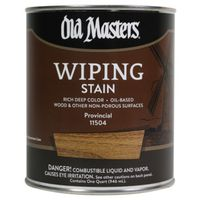 Old Masters 11504 Oil Based Wiping Stain