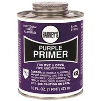 Harvey's 019070-12 PVC/CPVC Purple Primer