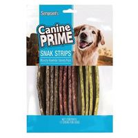 Uncle Sam's Canine Prime 47386/47775 Rawhide Snak Strip