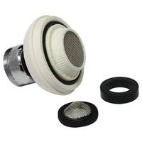 PlumbPak PP80051 Dual Threaded Faucet Aerator With Brass Nut