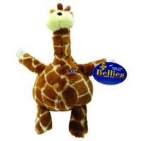 Aspen 54272 Extra Large Plush Giraffe Bellies Dog Toy