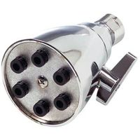 SHOWERHEAD ADJ 6-JET CHROME