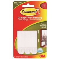 Command 17201 Medium Removable Interlocking Fastener