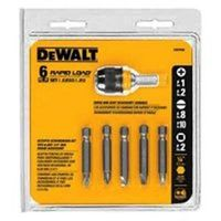 Dewalt DW2506CS Rapid Load Screwdriver Bit Set