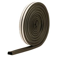 M-D 01025 D-Profile Weatherstrip Tape