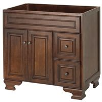 Foremost Hawthorne HANA3621D Traditional Bathroom Vanity