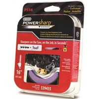 PowerSharp Oregon PS56 Chain Saw Chain With Sharpening Stone